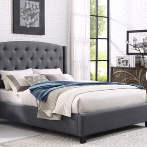 queen bed frame and mattress for Sale in Whittier, CA
