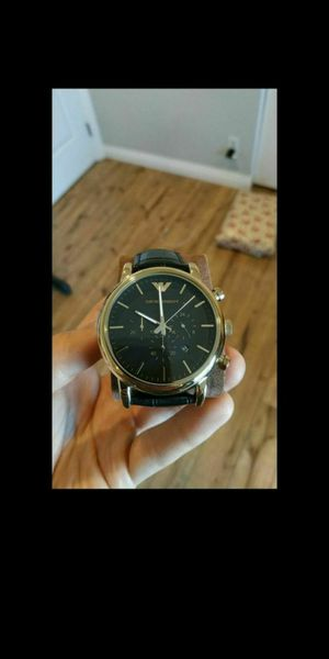 Emporio Armani men's watch mint condition for Sale in Lake Forest, CA