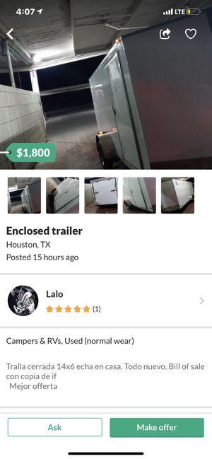 Stolen trailer do not buy for Sale in South Houston, TX