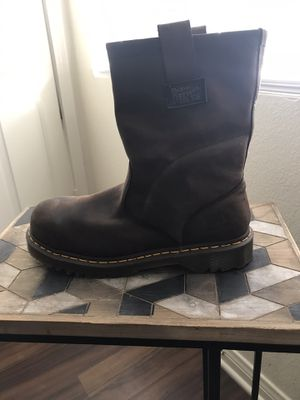 Dr. Martens steel toe work boots for Sale in Rancho Cucamonga, CA