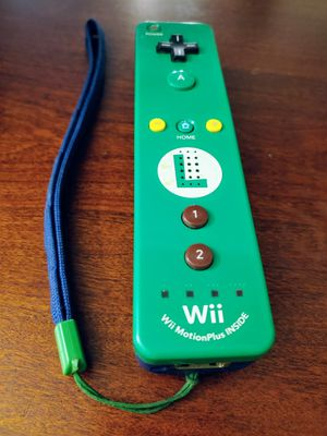 NINTENDO Wii/U LIMITED EDITION LUIGI WiiMOTE 100%💥💥 for Sale in Escondido, CA