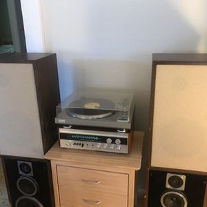 Complete Vintage Advent/Sherwood System With Turntable- Top Rated 1977 Gear! Bluetooth Ready! for Sale in Seattle, WA