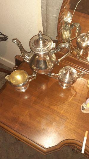 Roger's silver tea pots for Sale in Tacoma, WA