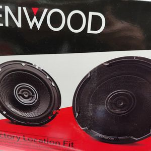 Car speakers: KENWOOD ( 1 Pair ) 6.5 inch 2 way 320 watts car speakers Brand new for Sale in Bell Gardens, CA