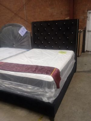 Queen Black Chantilly Bed Frame for Sale in Greensboro, NC