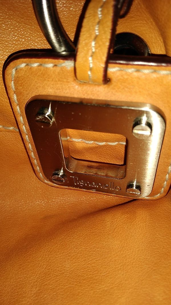 TIGNANELLO SOFT LEATHER HANDBAG LARGE SIZE