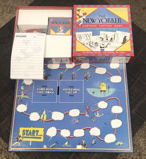 The New Yorker Cartoon Caption Board Game Complete for Sale in Port St. Lucie, FL
