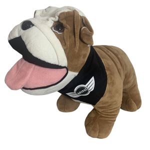 "Mini Cooper BMW Bulldog Dog Mascot BIG Stuffed Plush 16"" Collar and Bandana for Sale in Beaverton, OR"
