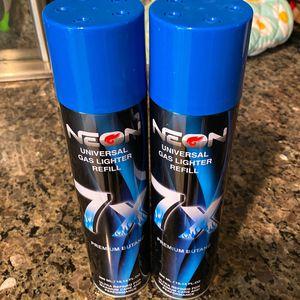 Gas Lighter Fluid Butain 2 Bottles 20.00 for Sale in Las Vegas, NV