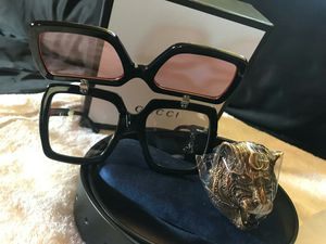 Brand new sunglasses and Gucci belt for Sale in Columbus, OH