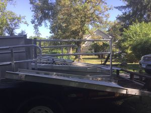Aluminum ramp w/rails for Sale in Barrington, IL