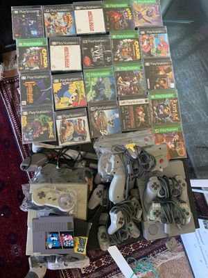 Play station and Super Nintendo bundle for Sale in Concord, CA