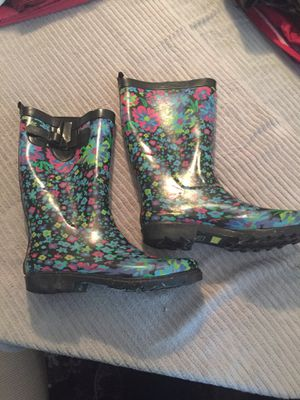 Women's size 10 Rain boots for Sale in Clayton, NC