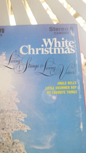 8 track tape - White Christmas for Sale in Sacramento, CA