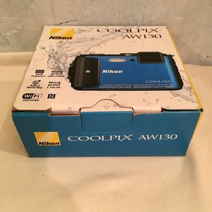 New Nikon Coolpix AW130 16.0-Megapixel Waterproof Shockproof Digital Camera. for Sale in Cooper City, FL