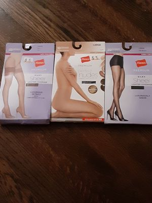 Hanes, Pantyhose (Bandle of 3) for Sale in Chicago, IL