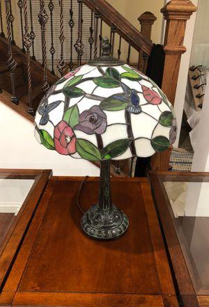"Antique Tiffany style lamb "" hummingbird "" table lamb for Sale in Sully Station, VA"