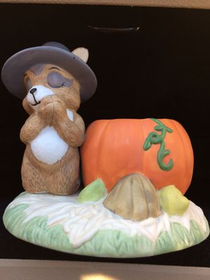 House of Lloyd Thanksgiving Pilgrim Racoon for Sale in San Leandro, CA