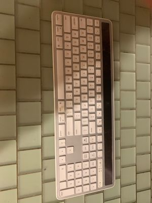 Solar Powered Apple Style Keyboard by Logitech for Sale in Morongo Valley, CA
