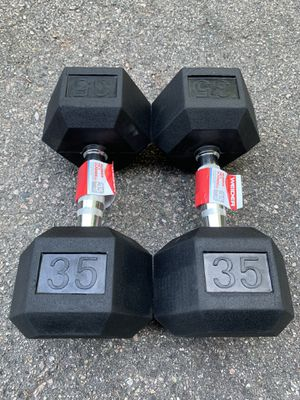 New 35lb Dumbbells - Set of 2 (70lbs Total) for Sale in Millis, MA