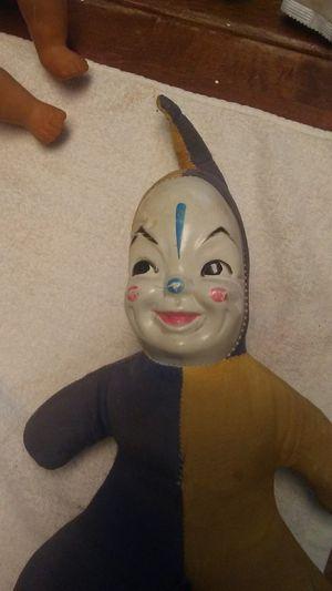 Antique clown doll for Sale in Spartanburg, SC