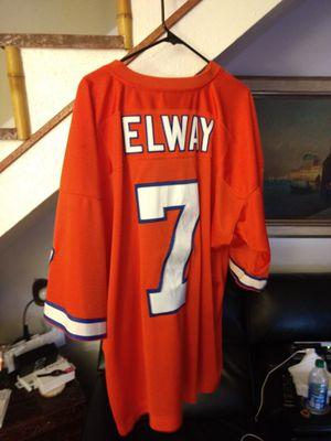 John elway Denver broncos throwback Mitchell for Sale in Carrollton, TX