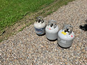 Used Empty propane tanks for Sale in Doylestown, OH