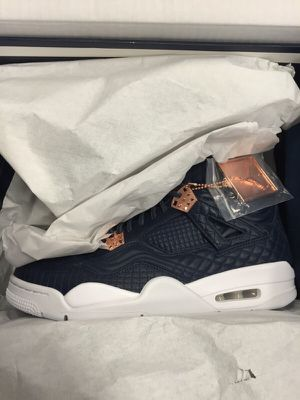 Nike Air Jordan Retro 4 Premium Obsidian for Sale in Austin, TX