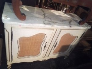 Marble Topped Cabinet With Shelf Inside for Sale in Washington, DC