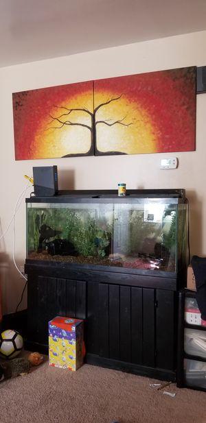 55 Gallon fish tank for Sale in Freemansburg, PA