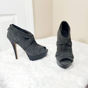 Burberry leather peeptoe ankle bootie for Sale in Cape Coral, FL