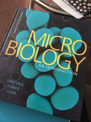 Microbiogology College Textbook 12th Edition for Sale in Concord, CA
