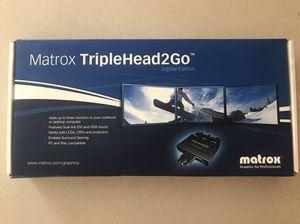 Matrox TripleHead2Go for Sale in North Las Vegas, NV