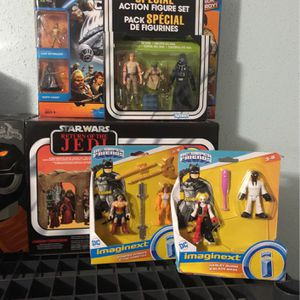 Marvel / Star Wars / DC/ Transformers /Power Rangers / GI Joe And More Figures for Sale in Houston, TX