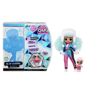 LOL Surprise O.M.G. Winter Chill Icy Gurl Fashion Doll & Brrr B.B. for Sale in Irwindale, CA