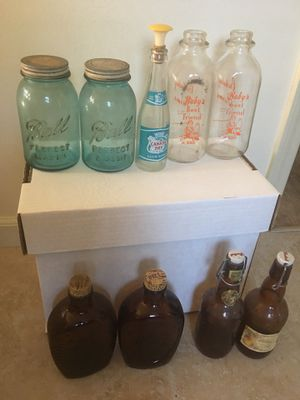 (11) Antique Glass Bottles for Sale in Castro Valley, CA