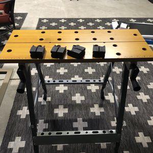 U.S. GENERAL Folding Clamping Workbench for Sale in Virginia Beach, VA