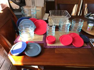 Pyrex glass storage containers for Sale in Columbus, OH