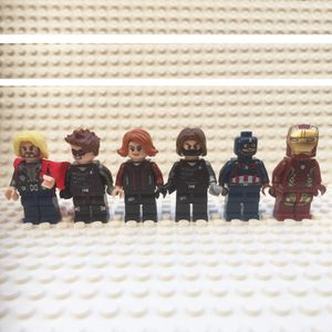 Minifigures Avengers works 6ct for Sale in Upland, CA
