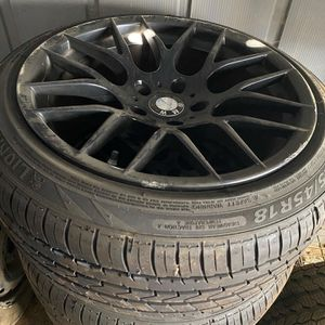 18 inch wheels/tires for Sale in Perris, CA