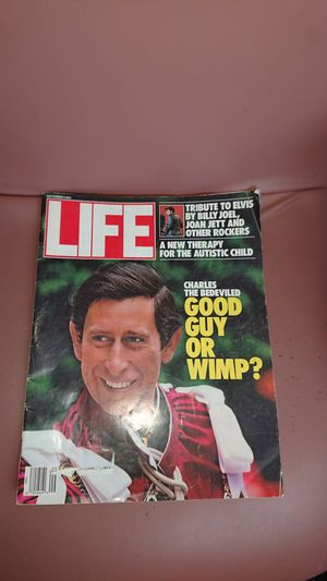 Vintage Life magazine 1987 Prince Charles for Sale in Phoenix, AZ