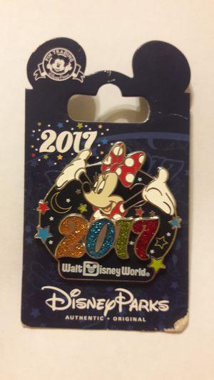 Walt Disney World 2017 Minnie Mouse Sparkle Pin for Sale in Plantation, FL