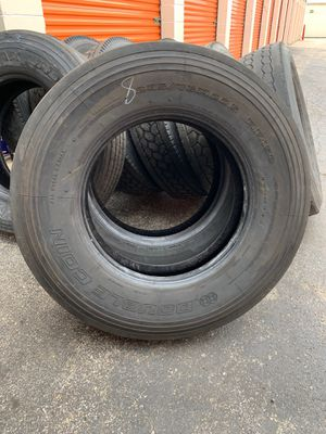 Double coin RR150 trailer tire 295/75R22.5 one available $160 for Sale in Wood Dale, IL