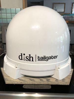 Dish Tailgater and Dish Wally on base to mount on tripod for Sale in STAMPING GRD, KY