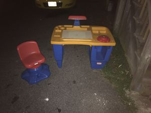 Kids lights up desk and chair for Sale in Frederick, MD