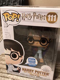 Funko Pop! Harry Potter in Invisibility Cloak #111 Funko Shop Exclusive for Sale in Murrieta,  CA