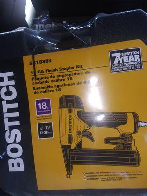 Bostitch 18ga finish stapler kit for Sale in Modesto, CA