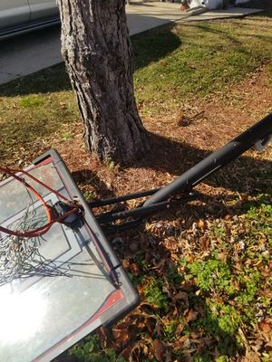 Lifetime elite adjustable basketball hoop for Sale in Virginia Beach, VA