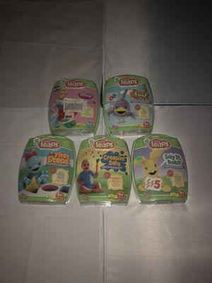5 lot of Little Leaps DVD's NEW Sealed for Sale in Fort Belvoir, VA