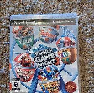PS3 Family Game Night 3 for Sale in Iowa City, IA
